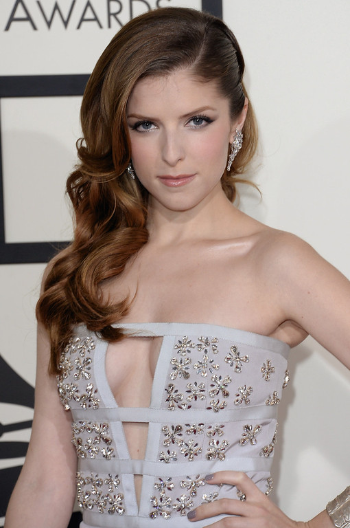 . Actress-singer Anna Kendrick attends the 56th GRAMMY Awards at Staples Center on January 26, 2014 in Los Angeles, California.  (Photo by Jason Merritt/Getty Images)