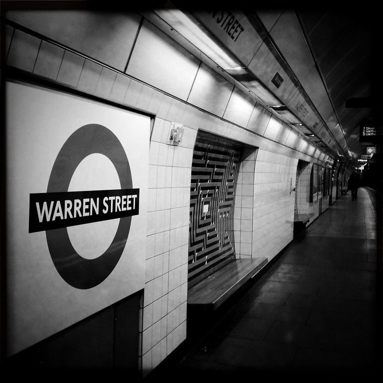 . A general view of Warren Street underground station on May 1, 2012 in London, England. Shot in April 2012 ahead of the London 2012 Olympics. (Photo by Vittorio Zunino Celotto/Getty Images)