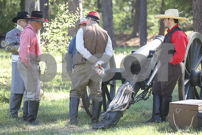 3/31/18 Camp Ford Living History Day - Re-enactments by David Thomas & Schuyler Wick