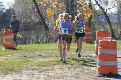 1.2 Miles, D3 GIRLS - 2016 MHSAA LP XC FINALS