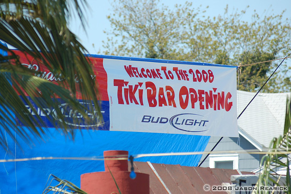 2008 Tiki Bar Opening I