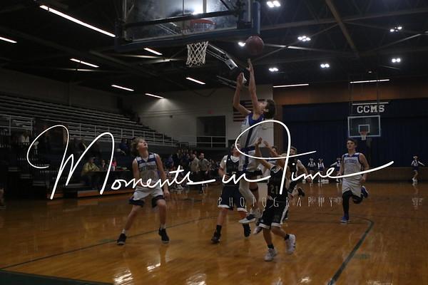 2018 CCMS Basketball