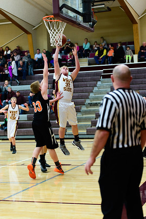 WSSH v. Aberdeen Boys Basketball 2014