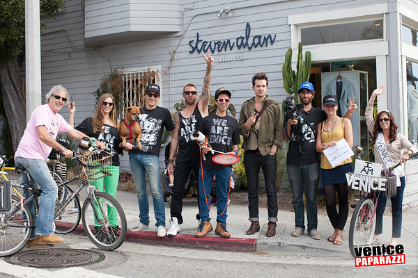 11.16.13 GQ on Abbot Kinney  Blvd.