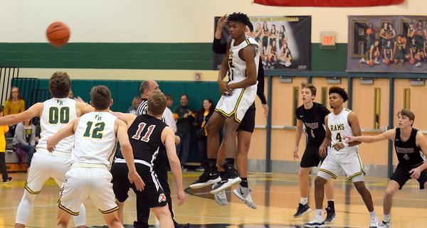 HS Sports - New Boston Huron Flat Rock Boys Basketball 20