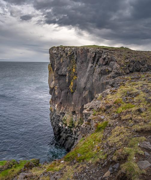 Iceland Sea Cliff   Photography by Wayne Heim