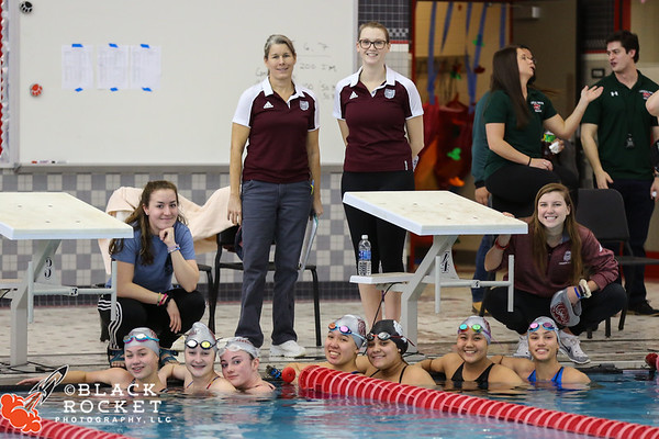 Lady Bears Swimming - Sectional Finals - 02-04-2017