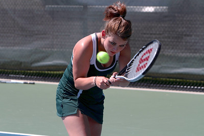Girls Varsity Tennis Zeeland West vs West Catholic