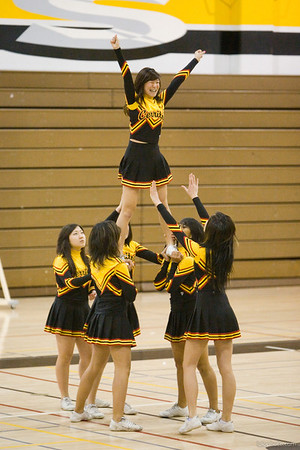 Cerritos High School Cheer / Pepsquad Show