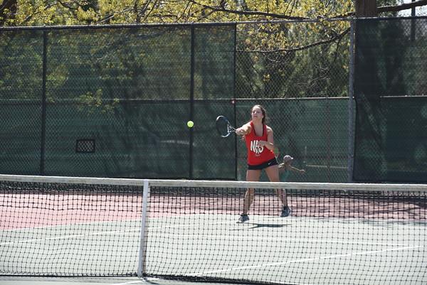 Girls Tennis at Pius Invite