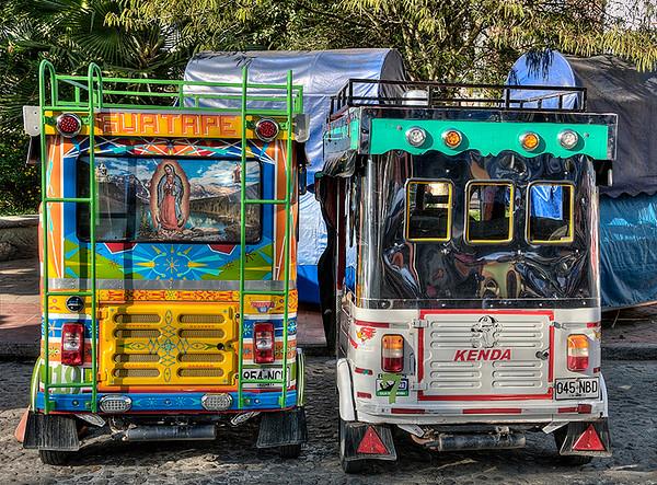 Guatape  Rickshaws