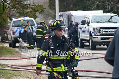 Mastic Beach House Fire Cranberry Dr  3/24/2021