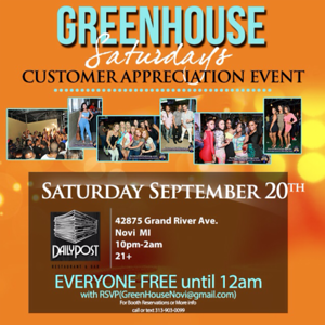 Greenhouse 9-20-14 Saturday