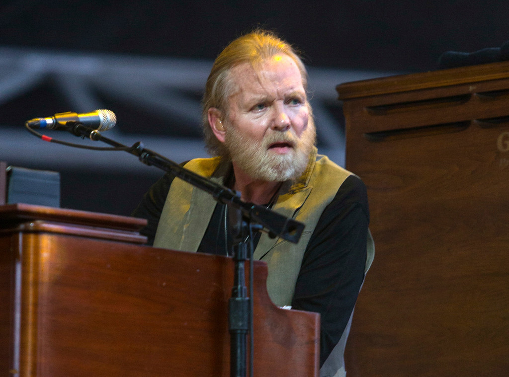 . FILE - In this April 25, 2015 file photo, Gregg Allman performs during the 2015 Stagecoach Festival in Indio, Calif. Allman has cancelled or rescheduled his shows throughout 2016 and the beginning of 2017 after a vocal cord injury. The 68-year-old musician said in a statement posted on his website Tuesday, Nov. 8, 2016, he is taking several months off from touring so he can �focus on his health.� (Photo by Paul A. Hebert/Invision/AP, File)