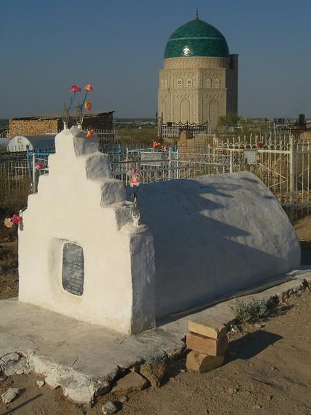 Mizdakhan Cemetery Tombs - Nukus, Uzbekistan