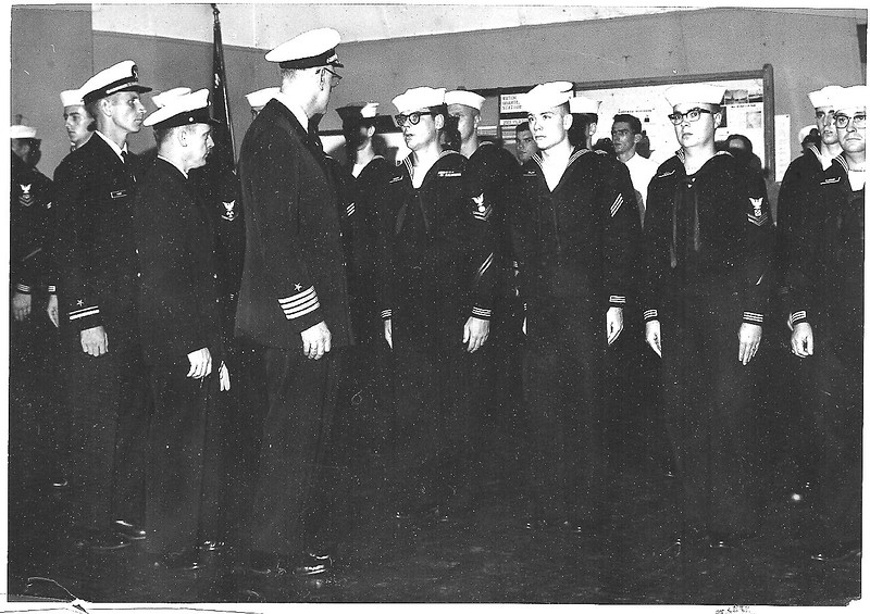 Naval Reserve Inspection  Lake Springfield USNR Station 1964.jpg