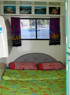 Top Deck Double Cabin, MV Dolphin Queen Similan Liveaboard