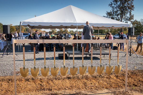 Church Hill North Groundbreaking Oct 2018