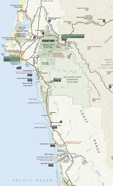 Redwood National Park (North Section)