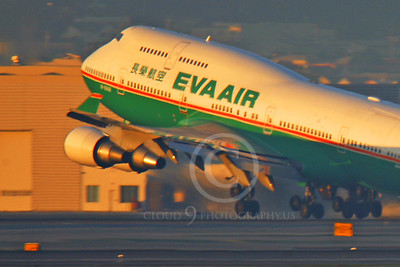 EVA Air Boeing 747 Airliner Pictures