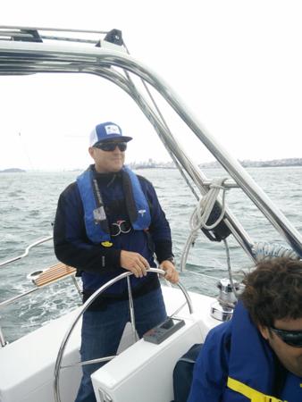 Damon Sailing