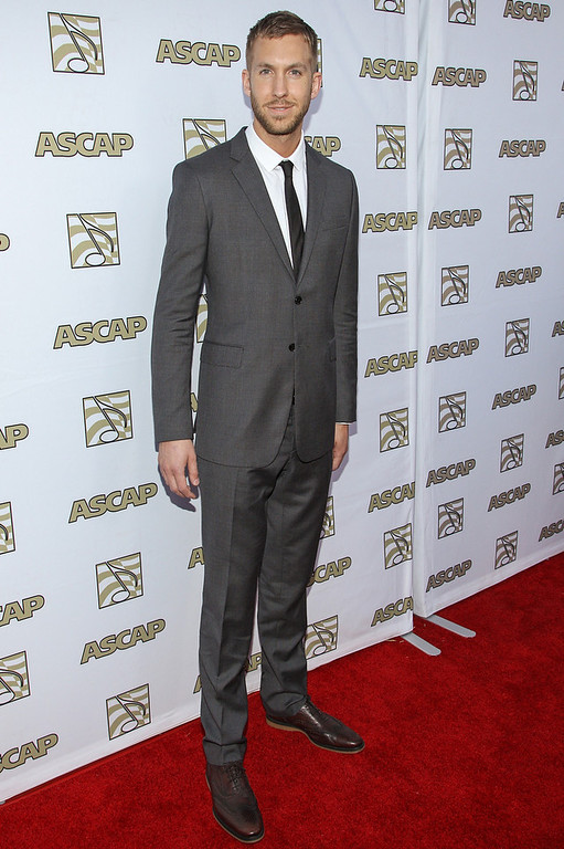 . Calvin Harris attends the 30th Annual ASCAP Pop Music Awards at Loews Hollywood Hotel on April 17, 2013 in Hollywood, California.  (Photo by Paul A. Hebert/Getty Images)