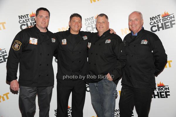 Greg Gormsen, Frank Ciofrone, Tom Gorman, Frank Guinan (Team Old Westbury PD) photo by Rob Rich/SocietyAllure.com © 2014 robwayne1@aol.com 516-676-3939