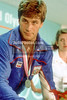 1984 LOS ANGELES, USA - August 08 -  840808B6232:  Bob Berland of the USA won the 86kgs silver medal and is here seen at the press conference at the Olympic Games .....