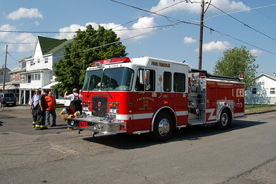 KLINE TOWNSHIP STRUCTURE FIRE 6-23-08 PICTURES BY COALREGIONFIRE