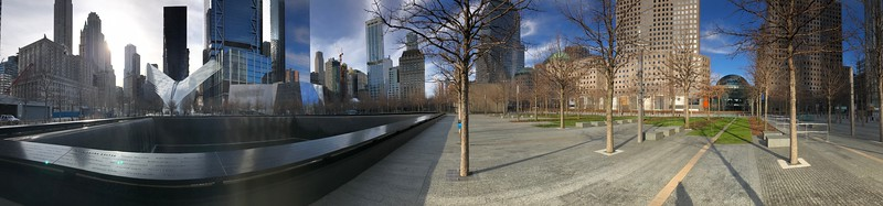 Panorama at North Pool.