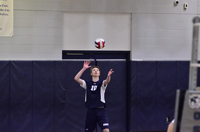 OE Boys Varsity Volleyball Vs Romeoville 2015 Senior Night