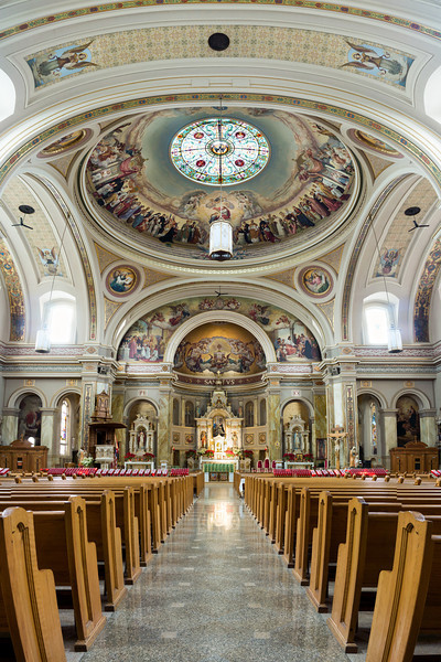 St Hyacinth Basilica Alter Panorama