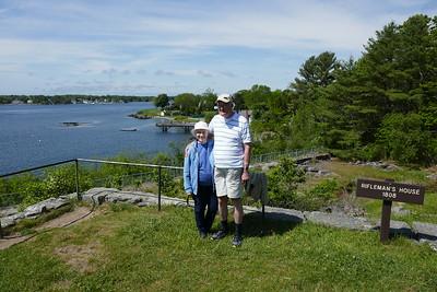 Margaret and Gary visit York Beach