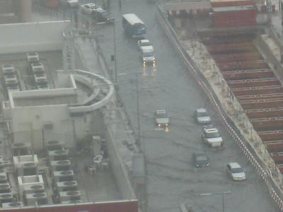 Dubai floods: 15 January '08
