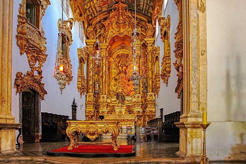 Church in Olinda side chaple