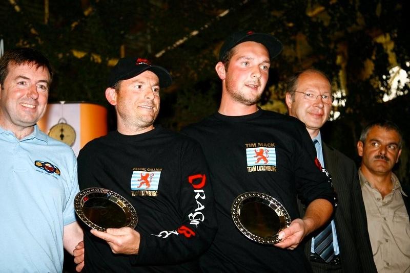 WCC08-leoneric-Pascasl Gallion & Tim Mack. Winners Biggest Fish & Third overall