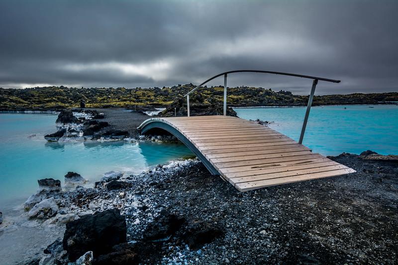 Bridge Over Warm Waters - Blue Lagoon, Iceland