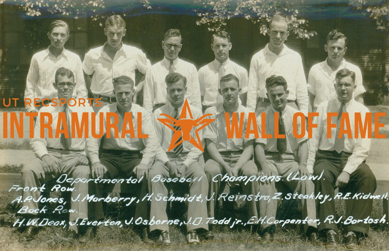 Intramural Champs 1929-30