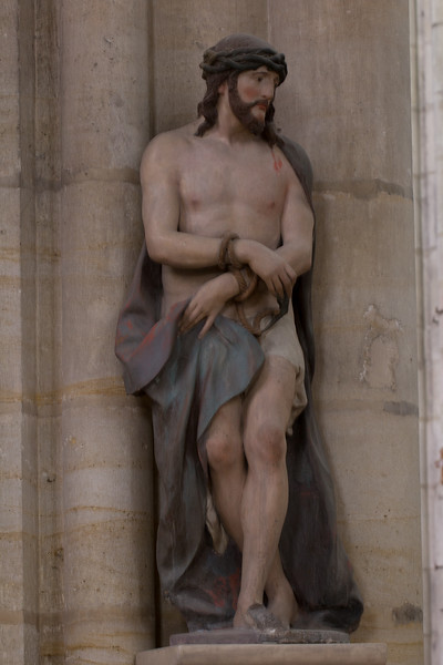 Troyes Saint-Urbain Basilica Man of Sorrows