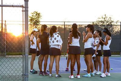 FP Girls V-Tennis 09/30/15