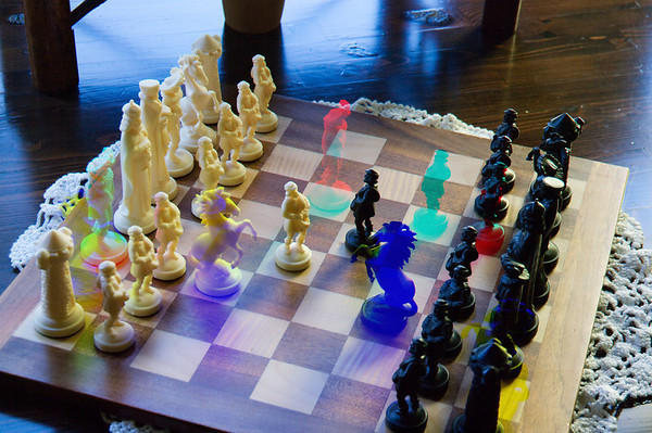 RGB Chessmen