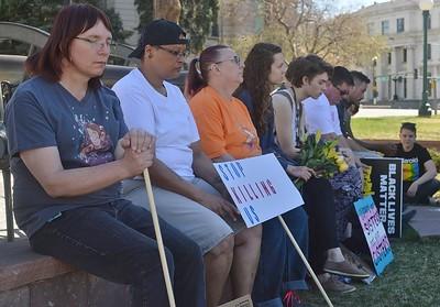 Silent Vigil For Transgender People Killed in Colorado 3/18/17