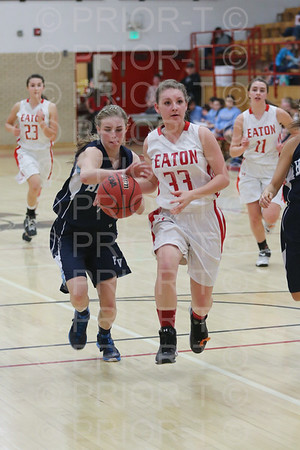 2/10/15 Eaton C Team Girls Basketball vs Platte Valley