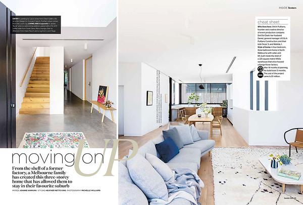 Inside Out, Dubois Design - North Melbourne Project