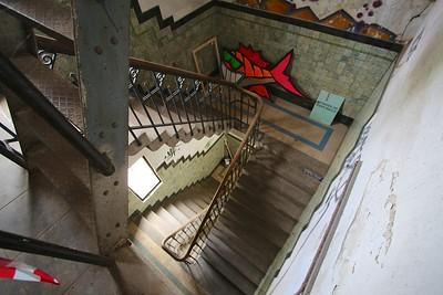 Het trappenhuis van Het Koelhuis.