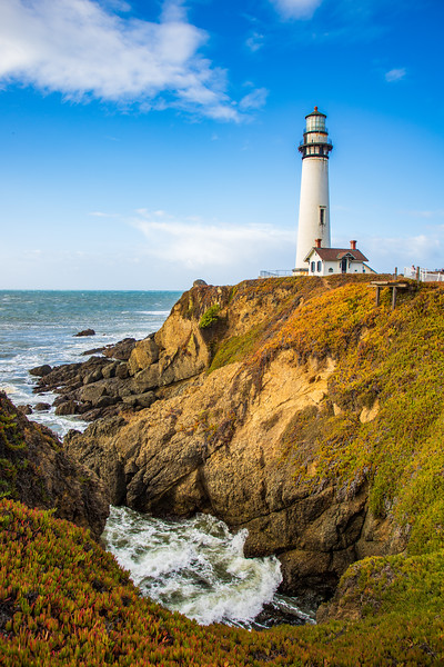 Pigeon Point, PCH, California