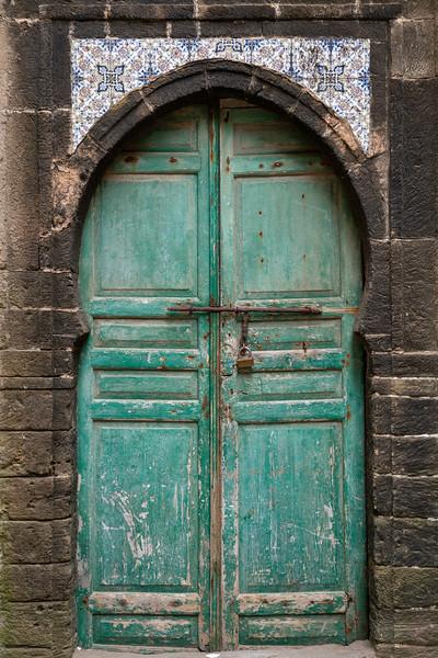 Old door in the Essaouira medina
