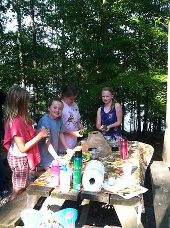 Girls Scout Campout