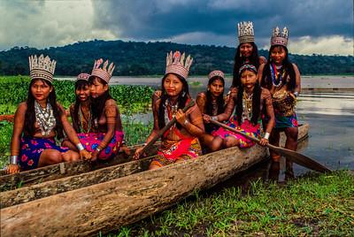 Embera & Wounan Indians