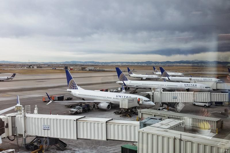 Saturday, January 24 - Singapore bound via Denver and Tokyo